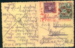"""1938, Bedarfspostkarte Mit Seltenem Befreiungsstempel Von """"""""Freudenthal"""""""". Geschrieben 7.10.38 - Cartas"""