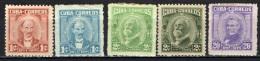 CUBA - 1961 - PERSONALITA' - NUOVI MH - Unused Stamps