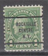 USA Precancel Vorausentwertung Preo, Bureau New York, Rockville Centre 632-63 - United States