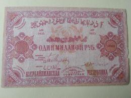 Azerbajan 1922 1.000.000 Rubli - Azerbaigian