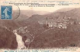 CPA Mouthier-Haute-Pierre Vue Générale Prise De La Route De Pontarlier PI 2238 - France