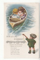 Illustrateur - Bertiglia - Chanson - Goudard - Jouve - Sur Le Lac D'annecy - Bertiglia, A.