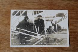 Cpa  Aviation Pau   Ecole D'aviation Mr Barthou  Et Wright   Callizo Photo  1909 - ....-1914: Précurseurs