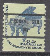 USA Precancel Vorausentwertung Preo, Bureau New York, Rockville Centre 1615C-81 - United States