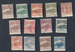 San Marino 1921-23 S.16 \3 Valori  Nuovi Linguellati E Usati  Fra.994 - San Marino