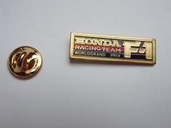 Beau Pin's , Auto Formule 1 ; Honda Racing Team , Grand Modéle - F1
