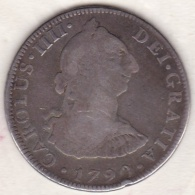 Mexico SPANISH COLONY. 4 Reales 1790 F.M. Charles III. Argent . KM# 98 - Mexique