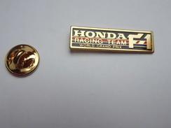 Beau Pin's , Auto Formule 1 ; Honda Racing Team , Petit Modéle - F1