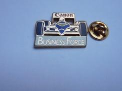Beau Pin's En Zamac , Auto Formule 1 , Photo Canon , Business Force , Signé Drago - F1