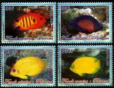 Fr Polynesia 2005 Marine Reef Fishes Set Of 4 MNH - Polinesia Francese