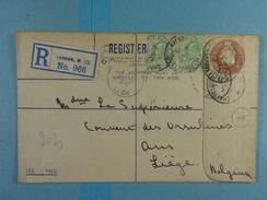 Lot De 18 Entiers Postaux Divers (Registered Letter, Carte-lettre) - Timbres