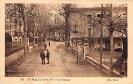 CPA Lamalou-le-Haut L'avenue (animée) PI 2122 - Lamalou Les Bains