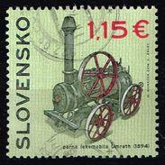 Slowakei 2016, Michel# 787 O Steam Locomotive Umrath (1894) - Used Stamps