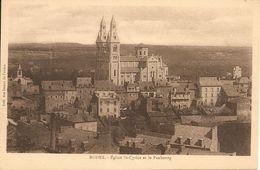 12. CPA. Aveyron. Rodez. Eglise Saint-Cyrice Et Le Faubourg - Rodez