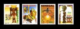 SENEGAL 2007 FESTIVAL MONDIAL ARTS NEGRES ART NEGRE NEGRA ART WORLD FESTIVAL - RARE -  MNH ** - Senegal (1960-...)