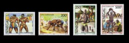 SENEGAL 2004 2006 LUTTE TRADITIONNELLE TRADITIONELLE - TRADITIONAL WRESTLING - RARE -  MNH ** - Senegal (1960-...)