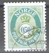 Norway Used 1997 Posthorn - New Values - Norwegen