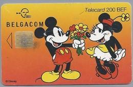 BE.- België. Telecard.- BELGACOM. DISNEY. EEN ORIGINEEL GESCHENK VOOR EEN SPECIALE GELEGENHEID. HJ 170208 - [2] Prepaid & Refill Cards