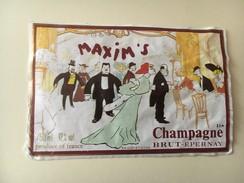 6302 - Champagne Brut Maxim's Illustration  SEM - Champagne