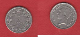 Belgique  / 5 Francs 1931 / KM 97.1 / TB - 09. 5 Francs & 1 Belga