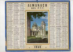Almanach Des Postes Et Télégraphes1959  - Departement AUDE - Big : 1941-60