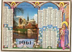 Almanach Des Postes Et Télégraphes1961 - Departement AUDE - Big : 1961-70