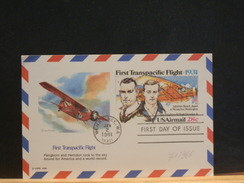 71/966  CP  USA FDC  1981 - Luftpost