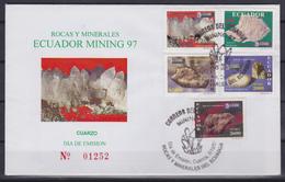 Ecuador - Mineralen / Minerals / Minéraux / Mineralien - O - Michel 2370/2374 - FDC - Equateur