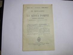 POMPEI   -- NAPOLI  ---  IL ROSARIO  E LA NUOVA POMPEI-- 191 - Italia