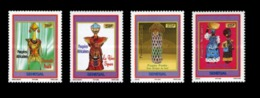 SENEGAL 2006 - POUPEES AFRICAINES - AFRICAN DOLLS PUPPETS TOYS BRIDES - RARE -  MNH ** - Puppen