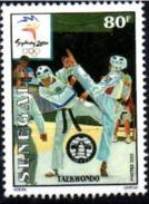 SENEGAL 2000 - TAEKWONDO KARATE KA RA TE DO - JEUX OLYMPIQUES SYDNEY OLYMPIC GAMES - RARE -  MNH ** - Sénégal (1960-...)