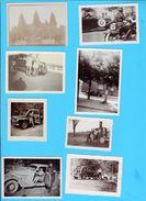 Lot De 13 Photo  Ancienne - Voitures Anciennes - Automobiles