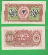 Albania Shqiptar 10 Leke 1957 - Albania