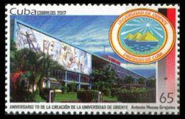 Cuba 2017 / High Education Oriente University MNH Universidad Educacion Superior / Cu6304  36 - Sin Clasificación