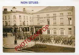 NON SITUEE-Commerces-Troupes D'assaut-CARTE PHOTO All.-Guerre 14-18-1 WK-France-Militaria- - War 1914-18