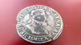 Monnaies, France, Henri IV, Demi Franc, - 987-1789 Royal