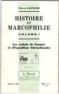 Catalogue Pierre Savelon_ Marcophilie Les Cachets D'expositions Internationales - Philatelie Und Postgeschichte