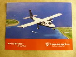 AIRPORT / FLUGHAFEN / AEROPORT    SEA AIRPORT  CUXHAVEN / NORDHOLZ - Aerodromi