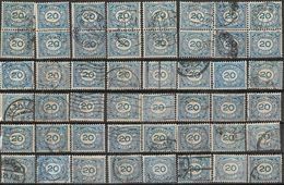 _8L-962:  N° 109 : Cijfer: ... Restje Van  48 Zegels... Verder Uit Te Zoeken.. - 1891-1948 (Wilhelmine)