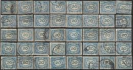 _8L-961:  N° 109 : Cijfer: ... Restje Van  40 Zegels... Verder Uit Te Zoeken.. - 1891-1948 (Wilhelmine)
