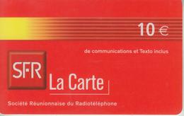 LA RÉUNION - TÉLÉCARTE - GSM DU MONDE *** RECHARGE GSM - SFR 07/04  *** - Reunion