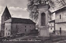 CELLE - CHIESA ROMANICA E SCUOLE ELEMENTARI   VG  AUTENTICA 100% - Ravenna