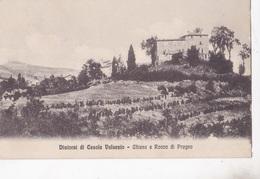 CASOLA VALSENIO -CHIESA E ROCCA DI PRUGNO   VG  AUTENTICA 100% - Ravenna