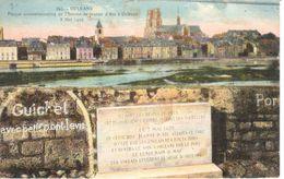 (45) Loiret - CPA - Orléans - Plaque Commémorative - Orleans