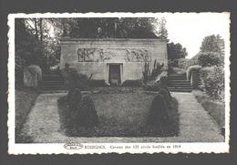 Rossignol - Caveau Des 125 Civils Fusillés En 1914 - Carte Photo éd. Mme Agnès Goffinet - Tintigny