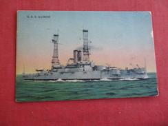 USS Illinois  Ref 2784 - Warships