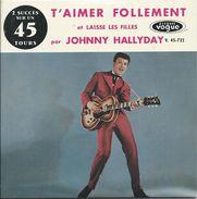Johnny Hallyday 1960.mars Le .14 (laisse Les Filles) - Sonstige