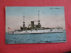 USS  Alabama   Ref 2784 - Warships