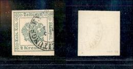10047 LOMBARDO VENETO - 1853 - 2 Kreuzer Verde Segnatasse Per Giornali (1) Usato (120) - Unclassified