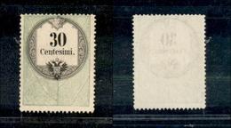 10051 LOMBARDO VENETO - Marche Da Bollo - 1854 - 30 Cent (8 Marche Da Bollo) - Nuovo Senza Gomma (10) - Stamps